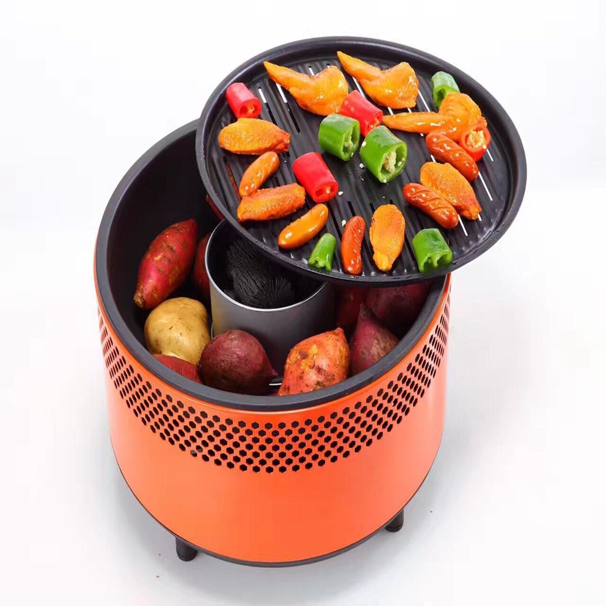 Enza Portable Outdoor BBQ - Great for the boat! - image No-3-small-bbq-pic on https://enzagroupsales.com.au