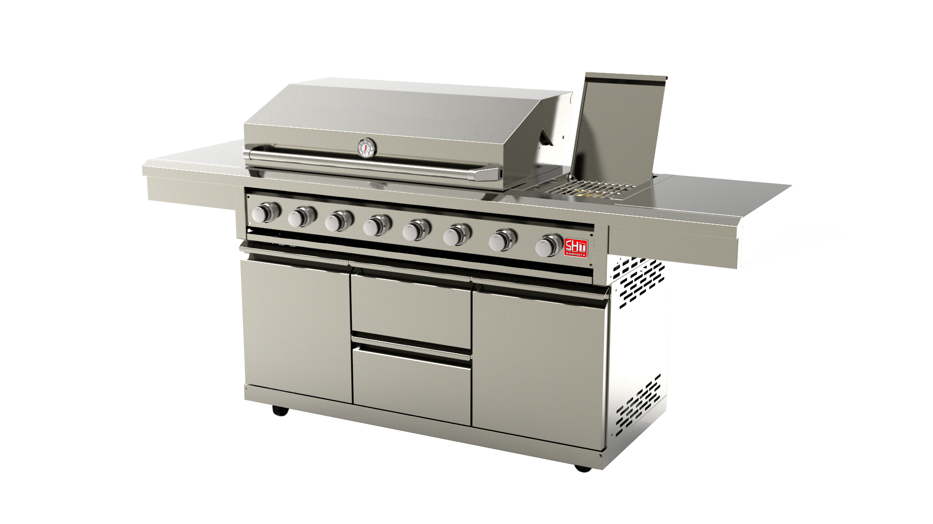 Enza King BBQ with Drawer!! - image SG008B-AD-5 on https://enzagroupsales.com.au