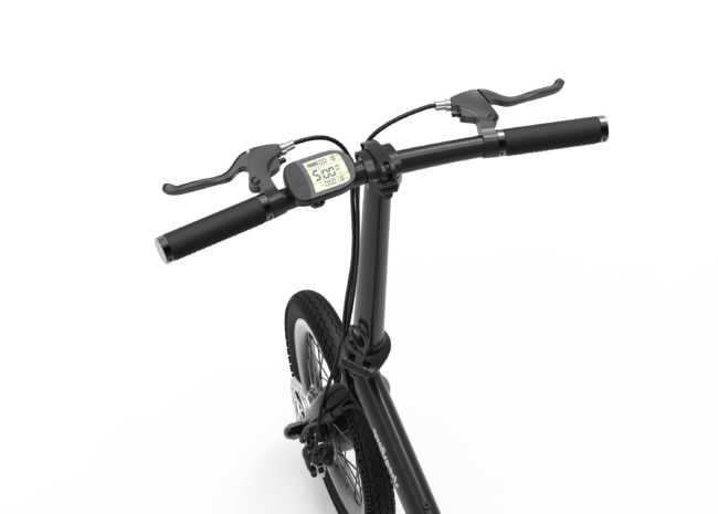 250W Compact Folding E-Bike - image Ebike-2-650x465 on https://enzagroupsales.com.au