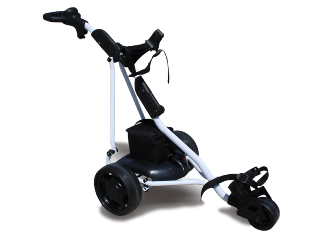 Electric Remote Control Golf Trundler - image Marshell-Golf-trolley-2-1-650x488 on https://enzagroupsales.com.au